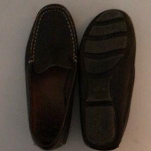 Crewcuts leather dress shoes